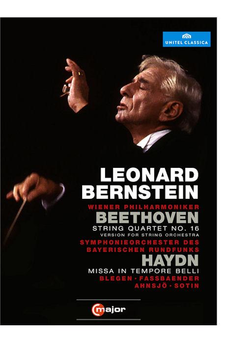 STRING QUARTET NO.16 & MISSA IN TEMPORE BELLI/ LEONARD BERNSTEIN [베토벤: 현악사중주 16번]