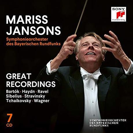 GREAT RECORDINGS/ MARISS JANSONS [그레이트 레코딩스 - 바이에른 방송 교향악단, 마리스 얀손스] [한정반]