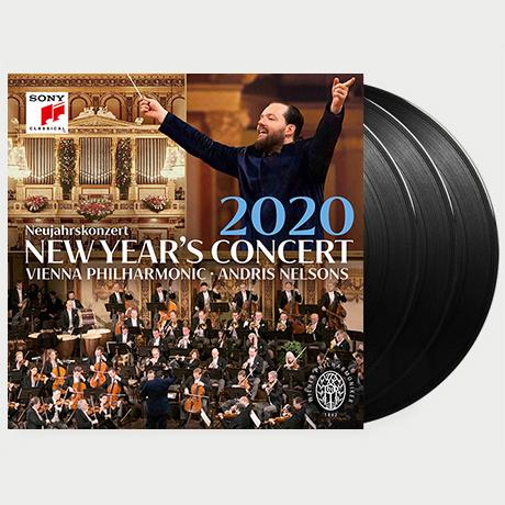 NEW YEAR`S CONCERT 2020/ ANDRIS NELSONS [2020 빈 필하모닉 신년음악회 - 안드리스 넬손스] [한정반] [LP]