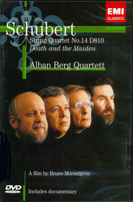 STRING QUARTET NO.14 D810 DEATH AND THE MAIDEN/ ALBAN BERG QUARTETT [슈베르트: 죽음과 소녀 - 알반 베르크 사중주단]
