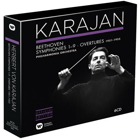 BEETHOVEN: SYMPHONIES & OVERTURES 1951-1955 [카라얀 2집: 베토벤 - 교향곡 & 서곡]