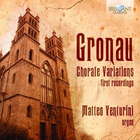 CHORALE VARIATIONS FOR ORGAN/ MATTEO VENTURINI