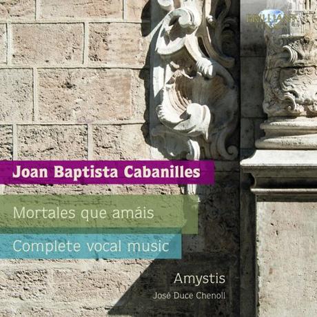 COMPLETE VOCAL MUSIC/ AMYSTIS, JOSE DUCE CHENOLL