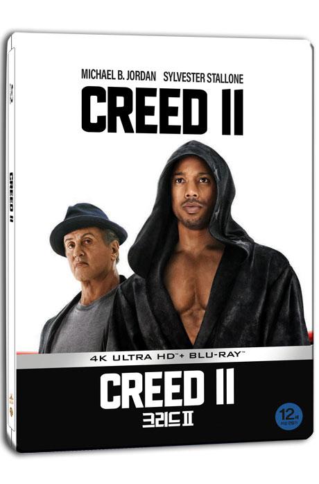 크리드 2 [4K UHD+BD] [스틸북 한정판] [CREED Ⅱ]