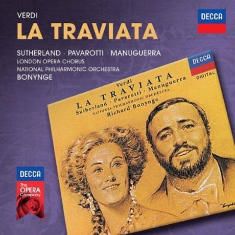 LA TRAVIATA/ RICHARD BONYNGE