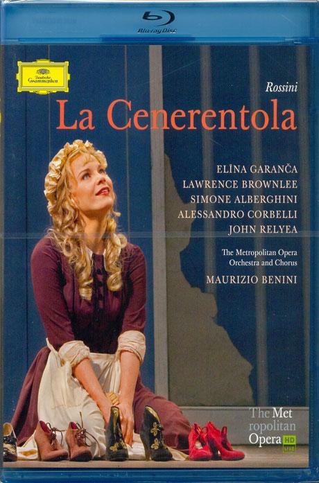 LA CENERENTOLA/ ELINA GARANCA, MAURIZIO BENINI [로시니: 신데렐라]