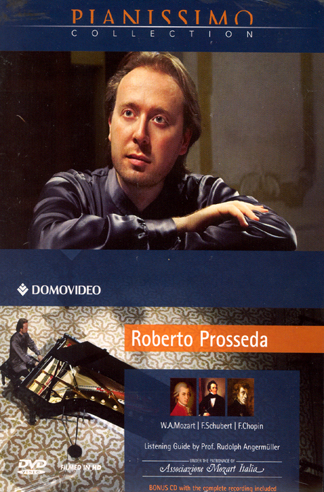 ROBERTO PROSSEDA: PIANISSIMO COLLECTION [DVD+CD] [로베르토 프로세다의 피아노 독주]