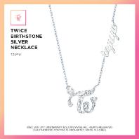 TZUYU(쯔위) - BIRTHSTONE SILVER NECKLACE: JEWELRY COLLECTION [한정판]