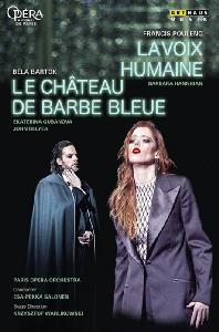 LE CHATEAU DE BARBE BLEUE & LA VOIX HUMAINE/ ESA-PEKKA SALONEN [바르톡: 푸른수염의 성 & 풀랑크: 목소리]