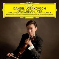 VIOLIN CONCERTOS NOS.1 & 2, PARTITA NO.2/ DANIEL LOZAKOVICH [바흐: 바이올린 협주곡, 파르티타 2번 - 다니엘 로자코비치]