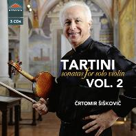 SONATAS FOR SOLO VIOLIN VOL.2/ CRTOMIR SISKOVIC [타르티니: 무반주 바이올린을 위한 소나타 2집 - 치르토미르 쉬시코비치]
