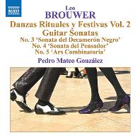 GUITAR MUSIC VOL.5/ PEDRO MATEO GONZALEZ [브라우어: 기타 음악 작품 5집 - 페드로 마테오 곤잘레스]