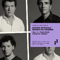 PIANO TRIOS/ PIERRE FOUCHENNERET, FRANCOIS SALQUE, ERIC LE SAGE [브람스: 피아노 트리오 전곡 - 실내악 전곡 녹음 프로젝트 8집 - 에릭 르 사쥬]