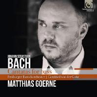 CANTATAS FOR BASS/ MATTHIAS GOERNE, GOTTFRIED VON DER GOLTZ [바흐: 베이스를 위한 칸타타 - 마티아스 괴르네]