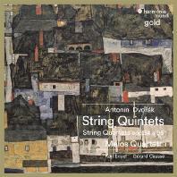 STRING QUINTETS & QUARTETS OPP.34 & 96/ MELOS QUARTETT [HM GOLD] [드보르작: 현악 오중주 3번, 현악 사중주 12번, 피아노 오중주 - 멜로스 사중주단]