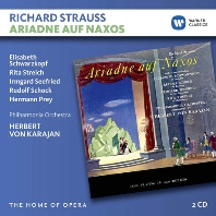 ARIADNE AUF NAXOS/ HERBERT VON KARAJAN [THE HOME OF OPERA] [R. 슈트라우스: 낙소스섬의 아리아드네 - 카라얀]