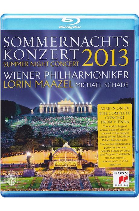 2013 SUMMER NIGHT CONCERT/ MICHAEL SCHADE, <!HS>LORIN<!HE> MAAZEL [2013 빈 필하모닉 여름밤 콘서트 - 샤데, 마젤]
