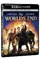 [명품화질할인] 지구가 끝장 나는 날 4K UHD+BD [THE WORLD`S END]