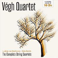 THE COMPLETE STRING QUARTETS/ VEGH QUARTET [베그 사중주단: 베토벤 & 바르톡 현악사중주 전곡]