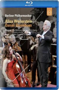 DIE MEISTERSINGER VON NURNBERG ETC/ DANIEL BARENBOIM [베를린필 유로피언 콘서트 2010] [블루레이 전용플레이어 사용]