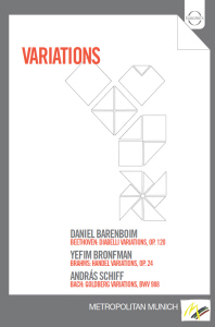 VARIATIONS/ <!HS>DANIEL<!HE> BARENBOIM, YEFIM BRONFMAN, ANDRAS SCHIFF [유명 변주곡집]