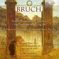 DOUBLE CONCERTO FOR CLARINET, VIOLA AND ORCHESTRA, 8 PIECES FOR CLARINET, VIOLA AND PIANO/ GIOVANNI PUNZI [부르흐: 클라리넷, 비올라, 오케스트라를 위한 이중협주곡, 클라리넷, 비올라, 피아노를 위한 8개의 작품]