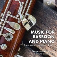 MUSIC FOR BASSOON AND PIANO/ ENRIQUE ESCARTIN ARA, CARMEN MAINER MARTIN [바순과 피아노를 위한 음악 - 카르멘 마이네르 마르틴]