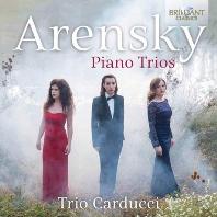 PIANO TRIOS/ TRIO CARDUCCI [아렌스키: 피아노 삼중주 - 카두치 트리오]