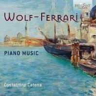 PIANO MUSIC/ COSTANTINO CATENA [볼프-페라리: 피아노 음악 - 코스탄티노 카테나]