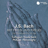 MIT FRIED UND FREUD - CANTATAS BWV 8, 125, 138/ COLLEGIUM VOCALE GENT, PHILIPPE HERREWEGHE [바흐: 칸타타(평화와 환희속에 나는 가리라) - 콜레기움 보칼레 겐트, 필립 헤레베헤]