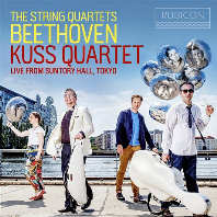 THE STRING QUARTETS/ KUSS QUARTET [LIVE FROM SUNTORY HALL TOKYO] [베토벤: 현악 사중주 전곡 - 쿠스 사중주단]
