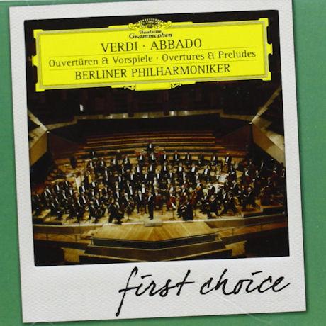 GIUSEPPE VERDI - OVERTURES & PRELUDES/ CLAUDIO ABBADO [FIRST CHOICE]