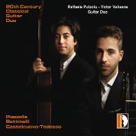 20TH CENTURY CLASSICAL GUITAR DUO/ RAFFAELE PUTZOLU, VICTOR VALISENA [20세기 클래식 기타 이중주 작품집 - 푸초루, 발리세나 기타 듀오]