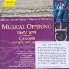 MUSICAL OFFERING BWV1079/ CANONS BWV1072,1078,1086,1087