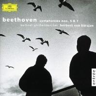 SYMPHONY NO.5 & 7/ HERBERT VON KARAJAN [베토벤: 교향곡 5, 7번 - 베를린필하모니, 카라얀]