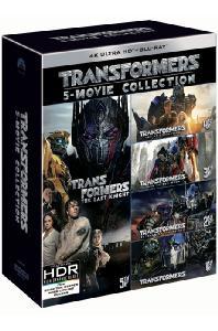 트랜스포머 5 무비 콜렉션 [4K UHD+BD] [한정판] [TRANSFORMERS 5 MOVIE COLLECTION]