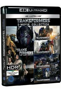 트랜스포머 5 무비 콜렉션 [4K UHD] [TRANSFORMERS 5 MOVIE COLLECTION]