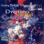 OVERTURES SONATAS CONCERTOS/ MUSICA ALTA RIPA