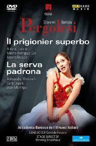 IL PRIGIONIER SUPERBO+LA SERVA PADRONA/ CORRADO ROVARIS [페르골레지: 하녀에서 마님으로+명예로운 포로]