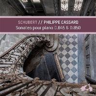슈베르트 - 피아노 소나타 D.845 & D.850, 우아한 왈츠 D.969, 왈츠 D.365 NO.35 & NO.36