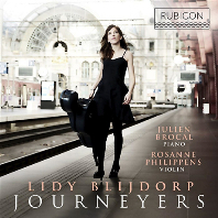 JOURNEYERS: CELLO SONATAS/ LIDY BLIJDORP, JULIEN BROCAL, ROSANNE PHILIPPENS [라벨 & 코다이: 첼로 작품집 - 리디 블레이도프]