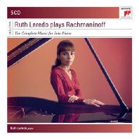 THE COMPLETE MUSIC FOR SOLO PIANO/ RUTH LAREDO [SONY MASTERS] [루스 라레도: 라흐마니노프 피아노 작품 전집]