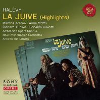 LA JUIVE - HIGHLIGHTS/ ANTONIO DE ALMEIDA [SONY CLASSICAL OPERA] [알레비: 유대 여인(하일라이트)]