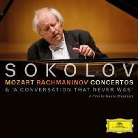 MOZART, RACHMANINOV CONCERTOS & A CONVERSATION THAT NEVER WAS [CD+DVD] [그리고리 소콜로프: 모차르트 & 라흐마니노프 협주곡]