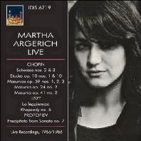 LIVE RECORDINGS 1965-1966 - CHOPIN, LISZT, PROKOFIEV [마르타 아르헤리치: 라이브]