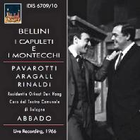 I CAPULETI E I MONTECCHI/ CLAUDIO ABBADO - LIVE RECORDING 1966 [벨리니: 캐퓰릿과 몬테규]