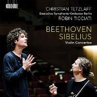 VIOLIN CONCERTOS/ CHRISTIAN TETZLAFF, ROBIN TICCIATI [베토벤 & 시벨리우스: 바이올린 협주곡 - 크리스티안 테츨라프]