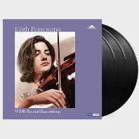 WDR RECITAL RECORDINGS [에디트 파이네만: 쾰른 방송국 미공개 스튜디오 레코딩] [180G LP]