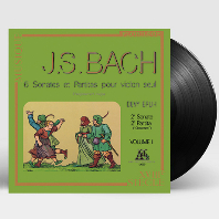 6 SONATAS & PARTITAS FOR SOLO VIOLIN/ DEVY ERLIH VOL.2 [바흐: 무반주 바이올린을 위한 소나타와 파르티타 2집 - 드비 에를리히] [180G LP]