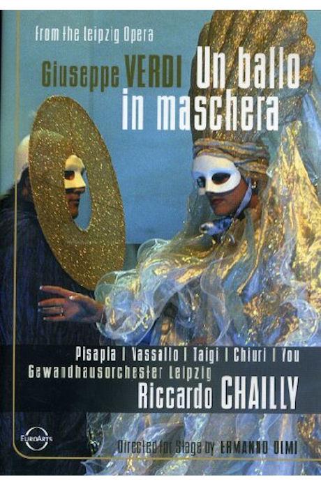 UN BALLO IN MASCHERA/ RICCARDO CHAILLY [베르디: 가면 무도회]